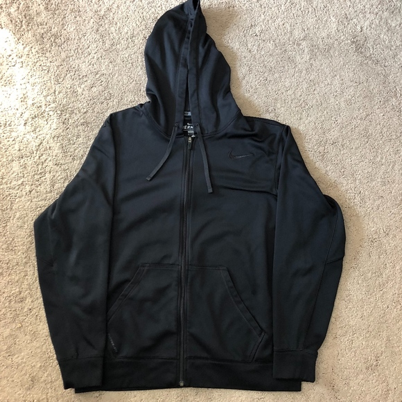Men s Large Nike Therma-Fit Zip-Up Hoodie e3a0496cc